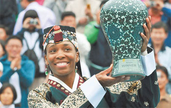 Venus Williams Defeats Kirilenko to Win Korean Open