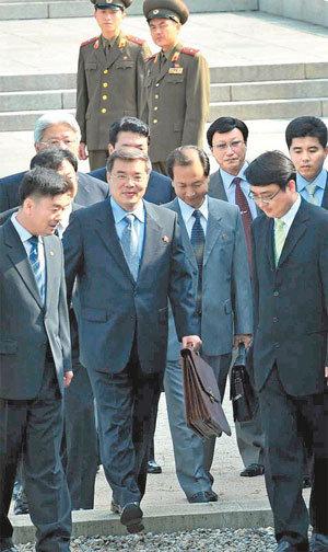 1st Inter-Korean Talks Since July