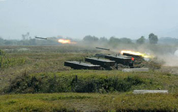 NK Live Fire Exercise