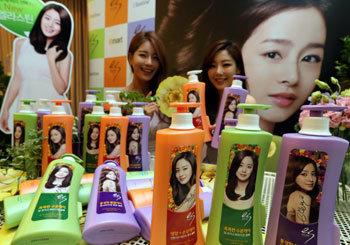 Shampoo model Kim Tae-hee