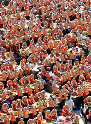 Korea`s biggest kimchi-making event