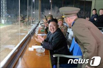 Kim Jong Un attends soccer game