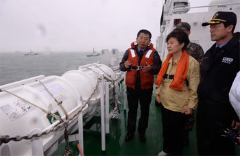 President visits sites of rescue