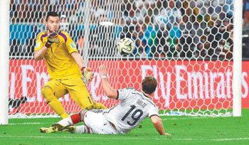 Germany seals championship with finishing goal
