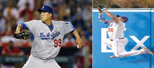 Ryu Hyun-jin clinches 13th win with defenders` help