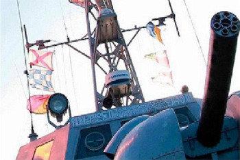 北朝鮮、軍艦3隻に日本製レーダーを装着
