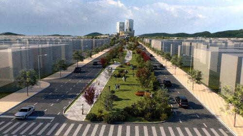 京仁高速道路の仁川区間を文化交流中心の一般道路に