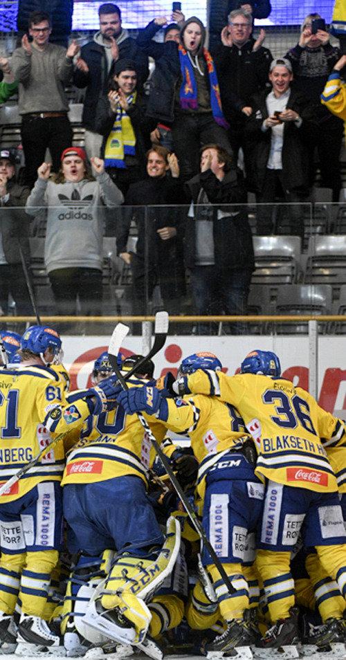 8時間32分、ノルウェーでアイスホッケー史上最長試合