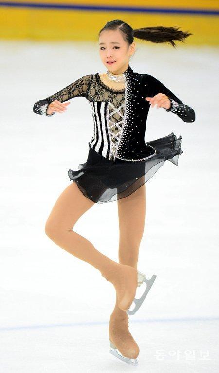 女子フィギュア・期待の14歳、イム・ウンスが世界ジュニア選手権に出場