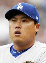 2戦目先発の柳賢振、球速下がり2本塁打の洗礼浴びて2敗目