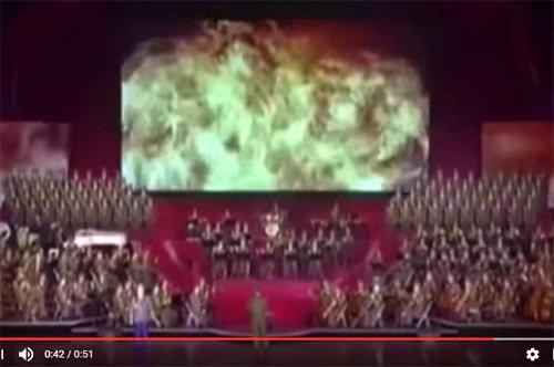 北朝鮮の米本土核攻撃か、ユーチューブ動画に米メディアが敏感に反応★
