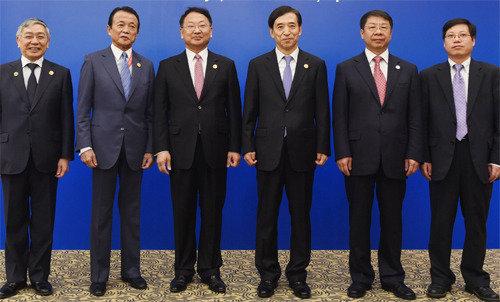 「あらゆる形の保護貿易主義に反対」  韓中日3国が財務省会議で共同宣言