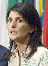 米国のヘイリー国連大使、「北朝鮮が核実験を完全に停止した時、対話の用意」