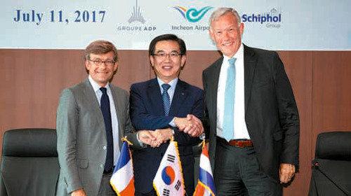 仁川空港が世界初の「空港同盟」、フランスやオランダとITなどで協力