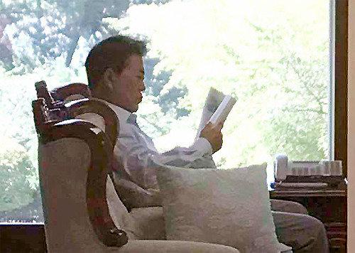 文大統領、休暇中に読んだ『明見万里』を推薦