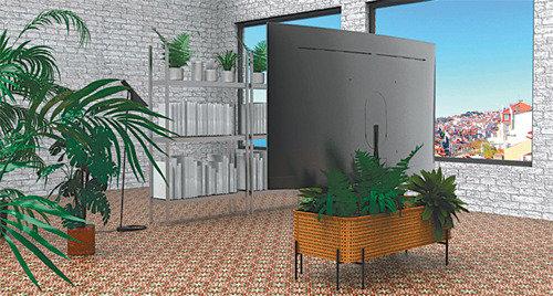 テレビが棚になり植木鉢になる…三星、テレビスタンド公募の候補作を公開