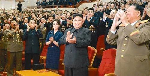 金正恩氏、9・9節に水素爆弾祝う宴会に出席