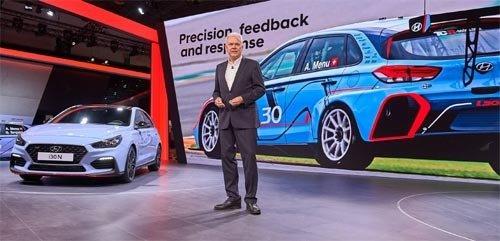 現代自の高性能「i30 N」が出撃、独モーターショーで欧州戦略車種を一挙公開