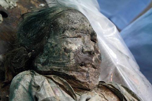 400年前の朝鮮時代の女性ミイラ、死因は「生活習慣病」