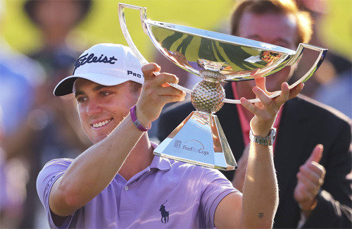 PGAフェデックス杯ランキング1位のトーマス
