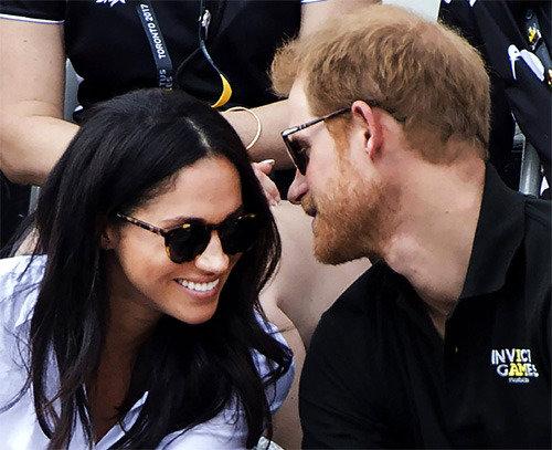 英ヘンリー王子、米女優の恋人と公開デート