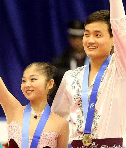 北朝鮮のフィギュア・ペア、平昌五輪出場への夢はなるか