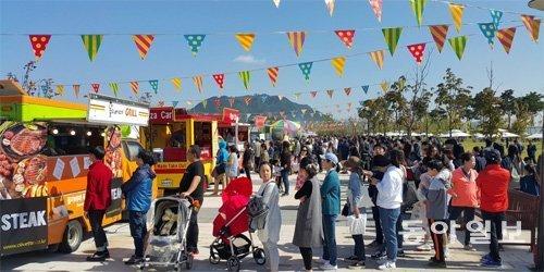 来月7日に世宗市で「ストリートフードフェスティバル」開催、フードトラック50台が参加