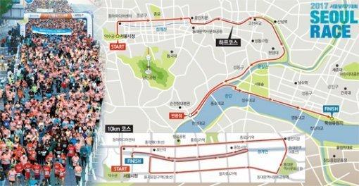 2017ソウルを走る大会、都心で15日午前8時スタート