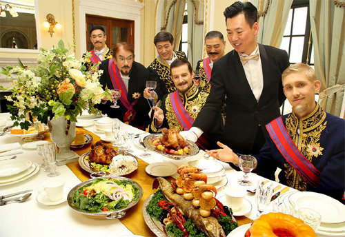 大韓帝国皇室の晩餐メニューはフォアグラとトリュフ