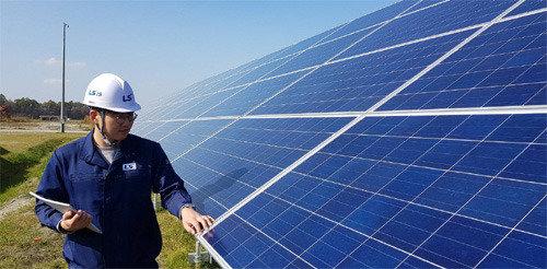 LSと韓電、日本最大の太陽光発電所を建設