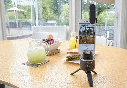スマホだけで360度のVR映像制作が可能に、韓国電子通信研究院がアプリを公開