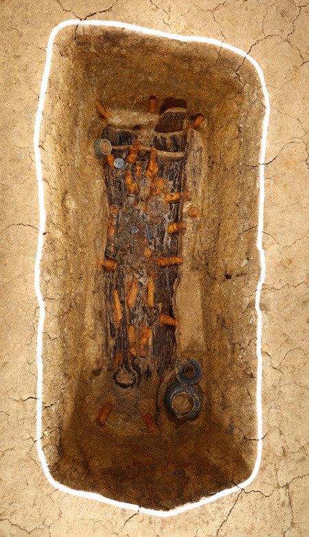 辰韓の小国「押督国」、初期の首長の墓を発見