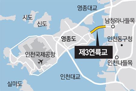 永宗島~青羅の第3連陸橋、2020年に着工