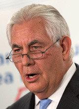ティラーソン米国務長官、「北朝鮮と条件なく協議」初めて提案