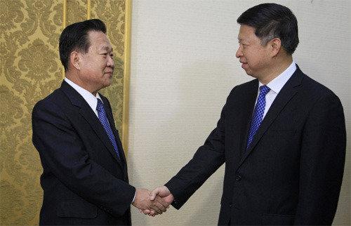 시진핑 특사 쑹타오 방북