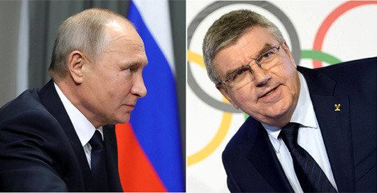 푸틴 평창 올림픽 참가 발언