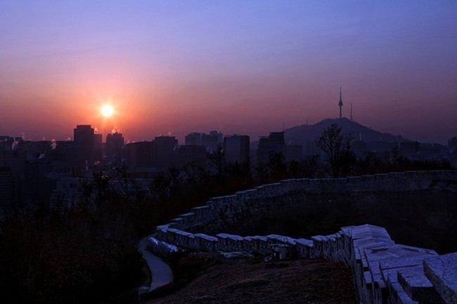 서울  성곽길
