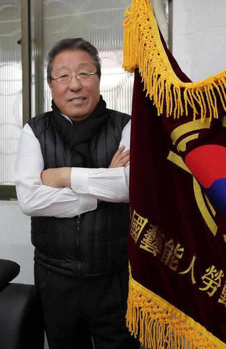 박일남 전국예능인노동조합연맹 위원장