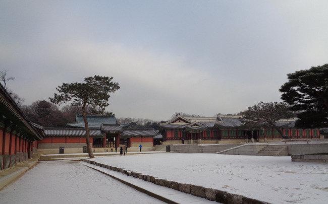 창덕궁, 종묘, 정릉에 비친 서울의 朝鮮