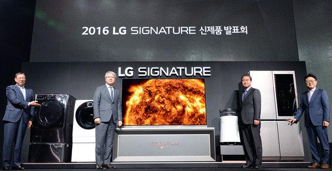 'LG 시그니처' 브랜드  명품 가전시장 정조준