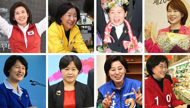 '여성 대표성'에선 4黨 모두 '지역정당'