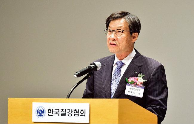 '강력한 구조개혁' 선언  권오준 포스코 회장