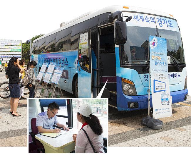 일자리 버스, 취업성공 패키지  원스톱 서비스…