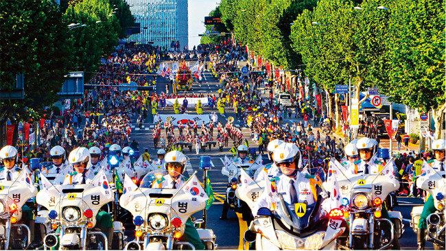축제의 도시, 예술의 거리