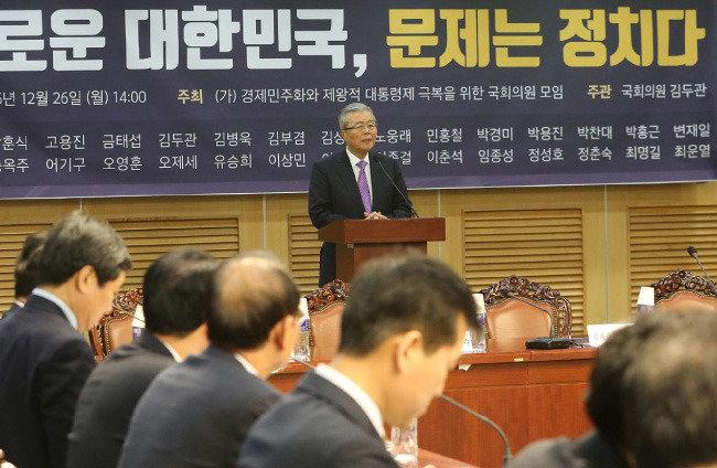 """""""제3지대 빅텐트는 없다, 사람 대 사람 구도"""""""