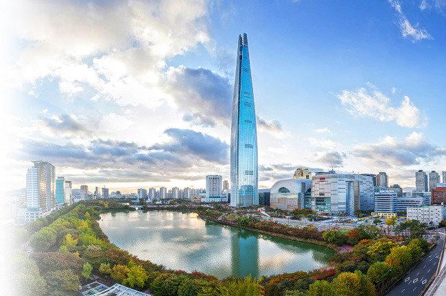 國運 개척하는 마천루 세계 5위 롯데월드타워