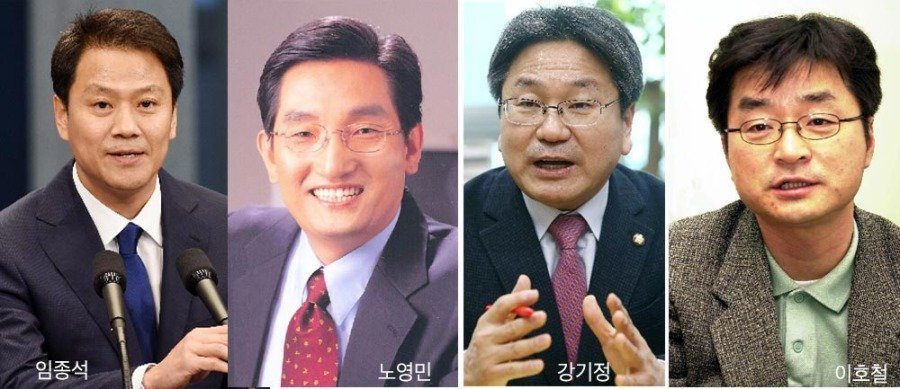 """""""文 정권의 뇌와 등뼈는 소장파 7인방(J7)"""""""