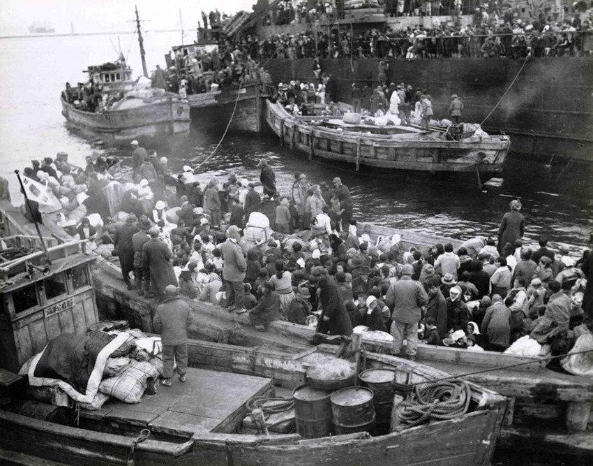 """""""우리 대신 피난민을 배에 태워라  우린 중공군과 싸우며 육로로 철수하겠다"""""""