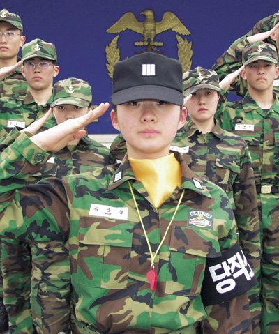 해군사관학교 첫 여생도 훈련소대장 김근향