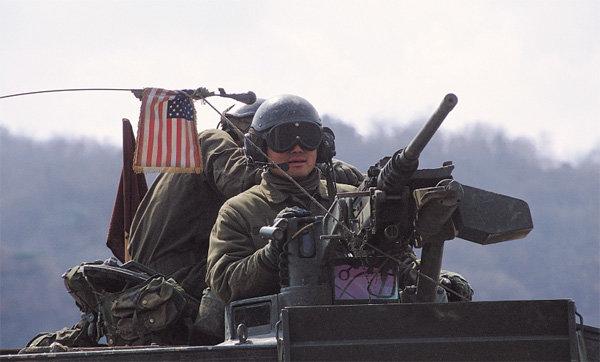 血盟 미군의 최정예 제2보병사단